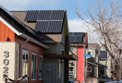 Boulder photovoltaic panels