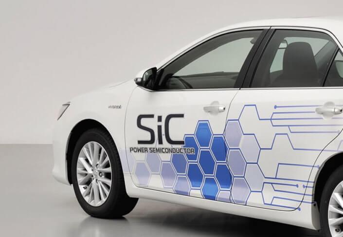 SiC Silicon Carbide Toyota camry