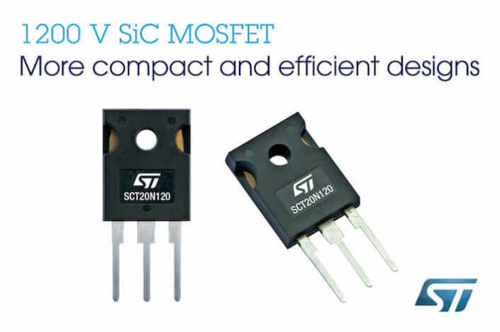 STMicroelectronics ST microelectronics silicon carbide mosfet
