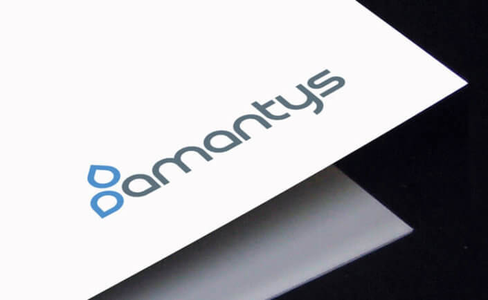 Amantys igbt driver company logo brand business card