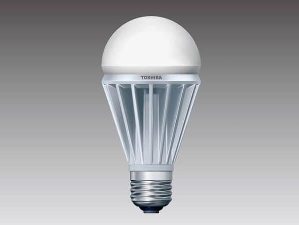 Toshiba GaN LED light bulb gallium nitride power supply