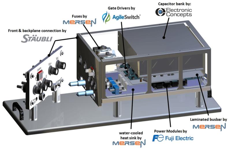Mersen agileswitch electronic concepts Fuji electric staubli powerstack power electronics stack converter
