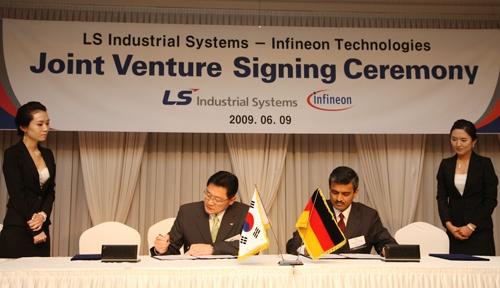 LS power semitech infineon joint venture creation