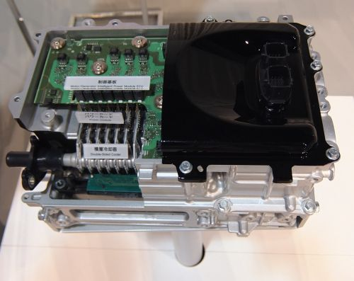 Prius 4 Toyota power electronics converter