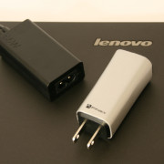 Lenovo GaN FINsix adapter laptop