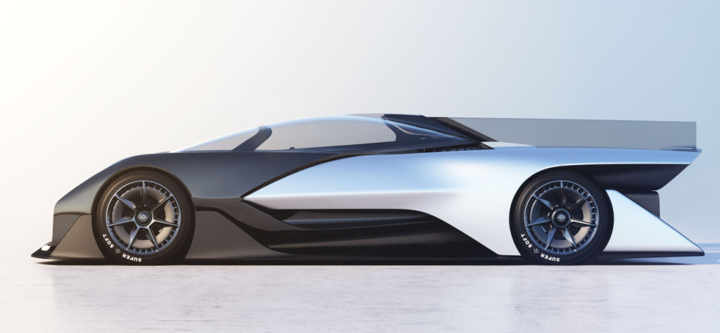 Faraday future electric car prototype concept car