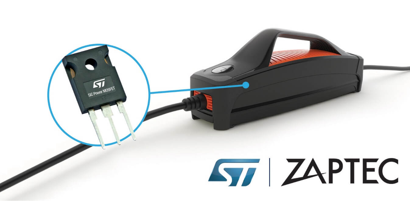 SiC Silicon Carbide MOSFET Zaptec electric car charger
