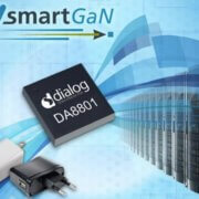 SmartGaN GaN Dialog Semiconductor IC driver fast charger