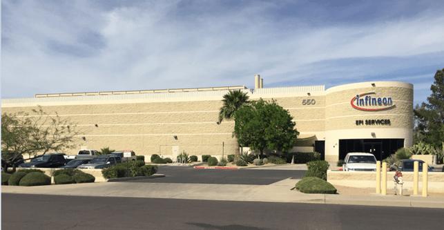 Infineon Gallium Nitride GaN facility Mesa Arizona