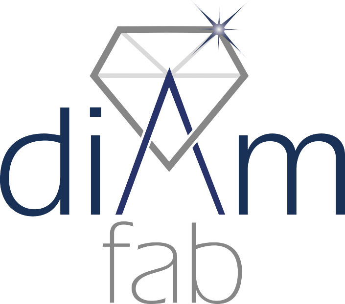 DiamFab logo Diamond start-up