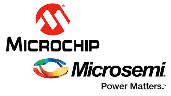 Microsemi Microchip logos